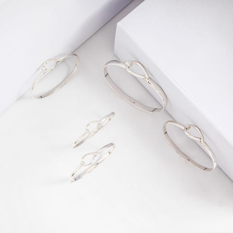 Sterling Silver Bangles & Cuffs